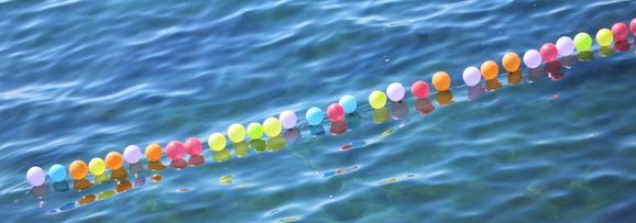 Ballonschnur im Bosporus