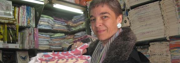 Pestemal-Einkauf in Istanbul